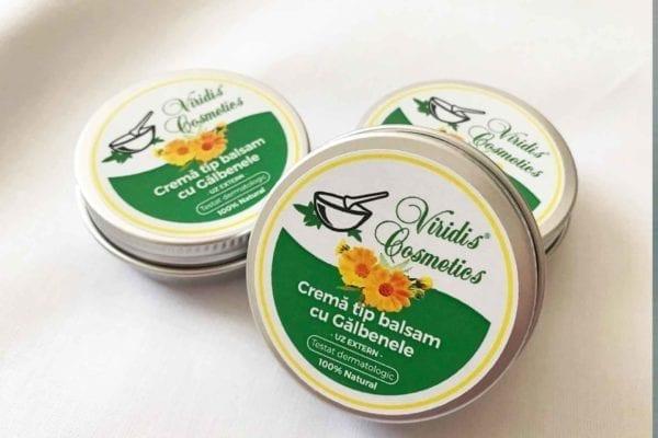 Crema de galbenele - Produse cosmetice bio naturale organice handmade