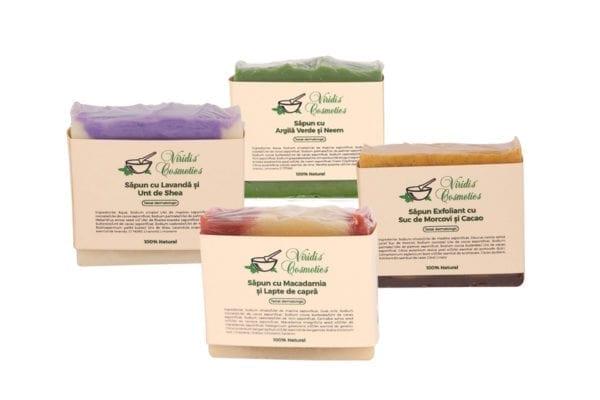 Set sapunuri bio naturale organice handmade